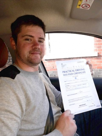 Richard passed on 29/4/19 with Peter Cartwright! Well done!