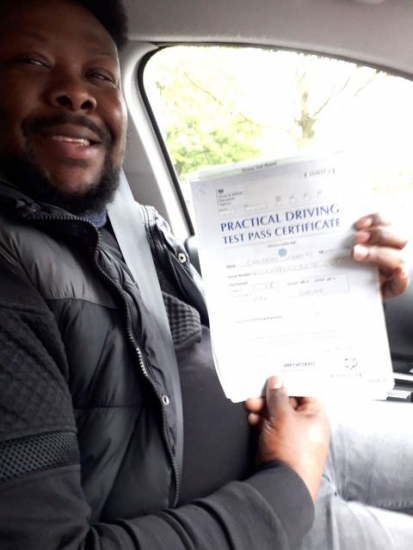 Christian Usocki Nwanko passed on 9/5/19 with Peter Cartwright! Well done!