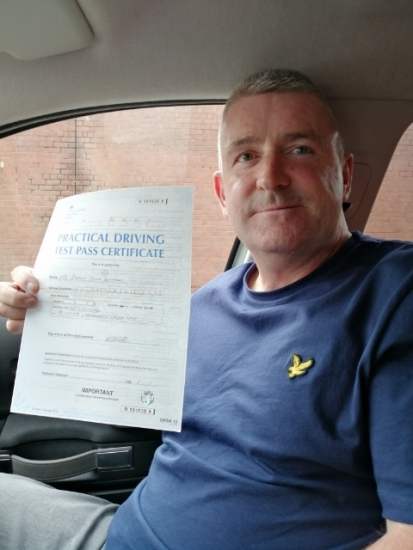Phillip Bowman passed on 8/10/19 with Peter Cartwright! Well done!