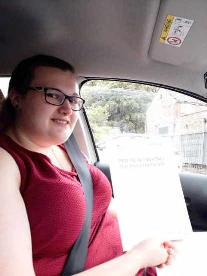 Kara Harrison passed on 1/8/18 with Peter Cartwright! Well done!