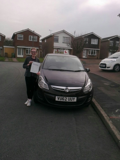 Amelia passed with Steve Lloyd on 31314 Well done