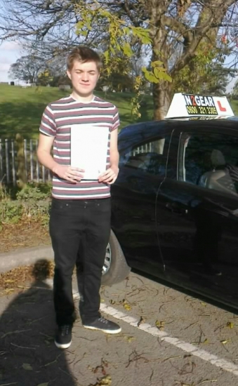Ben Scott passed on 51114 with Steve Lloyd Well done