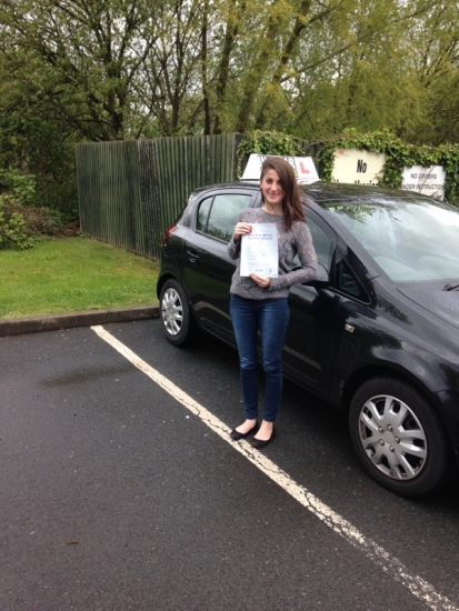 Caroline passed with Steve Lloyd on 6515 Well done <br /> <br /> <br /> <br /> Caroline says Thank you very much to Steve Lloyd what a great instructor He helped me pass first time He stayed calm and patient which helped me so much throughout the process The lessons were enjoyable and instructive which gave me confidence in my driving Although i am really glad to have passed my test i must admit Iacute;m