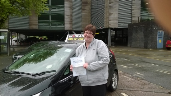 Caroline passed on 2615 with Mitchell Gosling Well done <br />