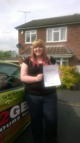Charley passed with Jane Barraclough on 30414 Well done