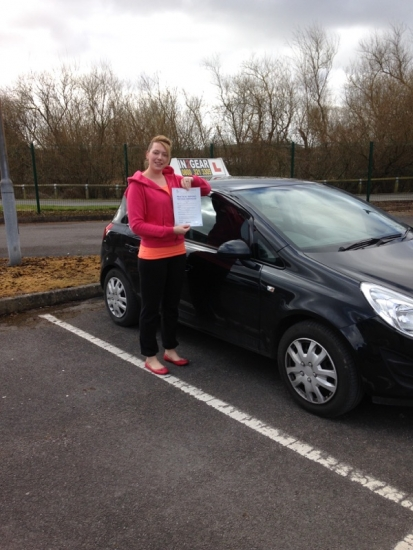 Charlotte passed with Steve Lloyd on 4315 Well done<br />