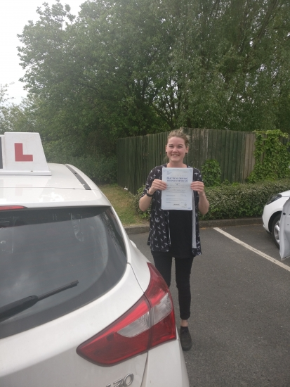 Julie passed 24518 Well done