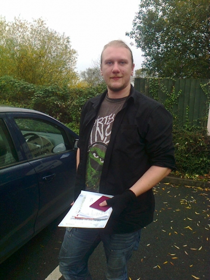 Matt passed with Phil Hudson on 61113
