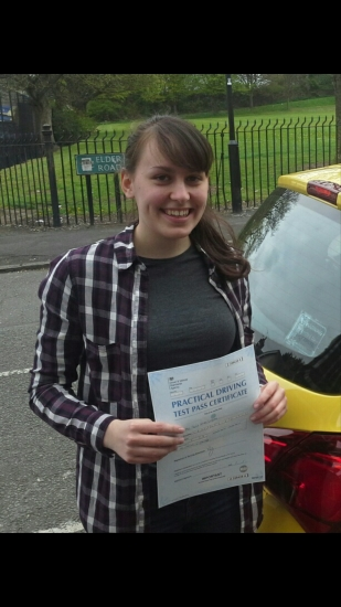 Sharice passed on 21417 with Garry Arrowsmith Well done