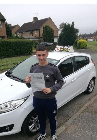 Owen passed with Russell on 5618 Well done