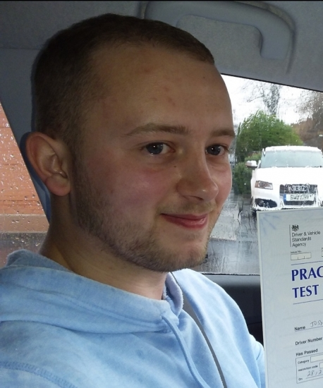 Joshua Aspinall passed on 29/2/19 with Garry Arrowsmith! Well done!