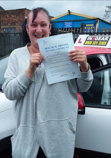 Dom Frost passed on 28/8/20 with Garry Arrowsmith! Well done!
