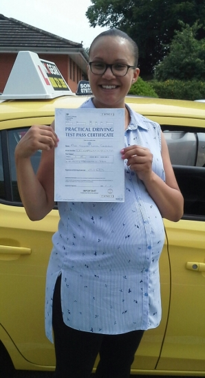 Siobhen Grinnell passed on 21617 with Garry Arrowsmith Well done<br />