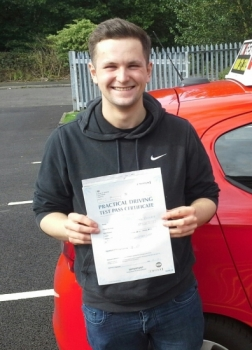 Will Rowley passed on 6/9/17 with Garry Arrowsmith! Well done?