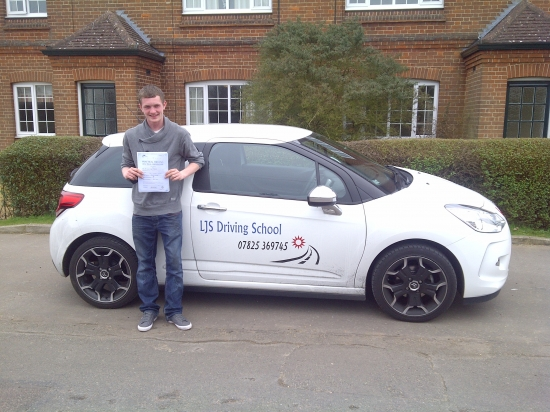 Great drive Lewis passing first time