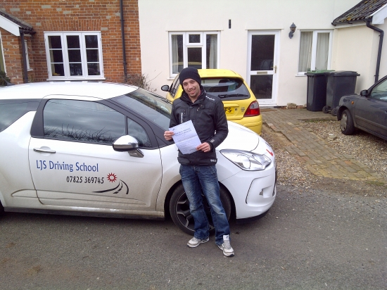 Fantastic drive Scott passing first time