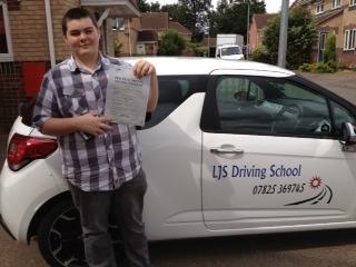 A superb drive to pass first time Kieran