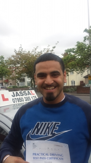 Congratulations Akash on passing test 1st time