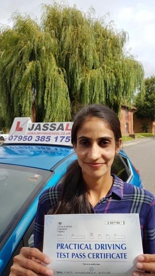 Congratulations Aman on passing your Driving Test Slough<br /> <br /> I passed my test in slough and it all happens with the full help of Mr S Jassal He is so calm patient and supportive Before driving he always explained every topic very clearly I would recommend everyone for Jassal driving school Thanks a lot