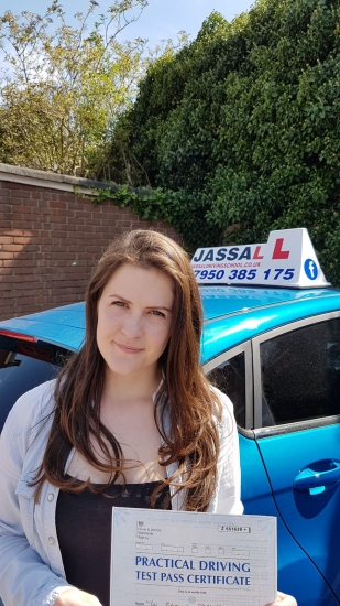 Congratulations Erin on passing your Driving Test today in Uxbridge Only 5 minors<br /> <br /> I enjoyed the lessons a lot because I felt comfortable and at ease while driving I got excellent feed back during the lessons because when something went wrong Sukh would give good advice and tips to drive safely I would recommend Sukh because he was very patient and calm throughout the lessons