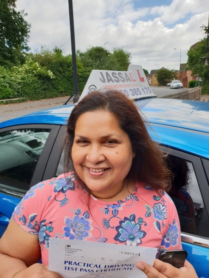 Congratulations Kaushala on passing uour Driving Test! Slough..<br /> Driving was not an achievable dream for me before but Sukh made it all possible. His instructions are second to none. I can recommend Sukh to anyone who wants to learn to drive competently, confidently and safely.