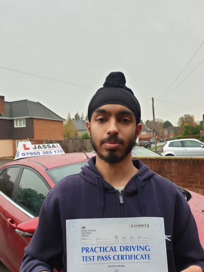 Congratulations Charan on passing your Driving Test in Slough on your 1st attempt!..<br /> Brilliant teacher and instructor who helped my brother and I both pass our driving test first time. I would recommend him to anyone that wants to learn to drive.