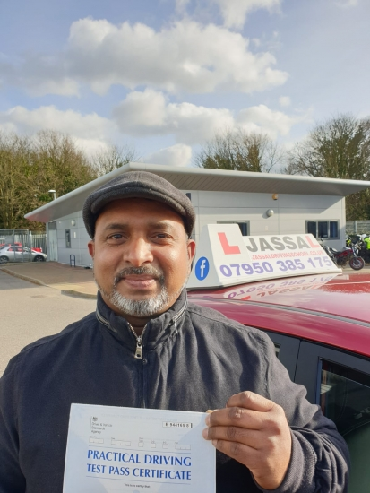Congratulations to Sahan! Passed driving test on 1st attempt in Uxbridge..<br />