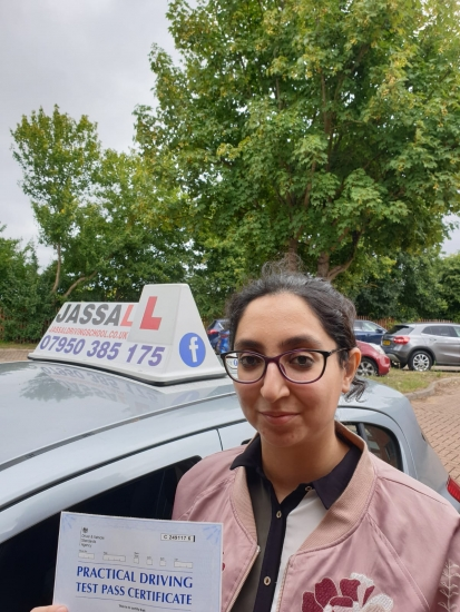 Congratulations to Taj! Passed her Driving Test today on her 1st attempt at Slough test centre...<br /> <br /> Mr. Jassal is a very dedicated and friendly instructor who gives detailed feedback on each and every aspect of your driving and makes sure that every lesson you take with him is a great learning experience. He guided and improved my driving tremendously so much so that I was completely confident be