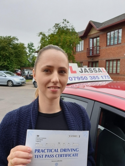 Congratulation Katrina on passing your Driving Test in Slough!..<br />