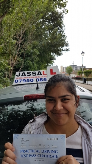 Congratulations Nidhi on passing driving test Isleworth<br /> <br />  Sukh Jassal is a good driving instructor who always gives a very constructive feedback His advice and feedback has helped me clear my driving practical test I really recommend him for anyone very new to driving just like me