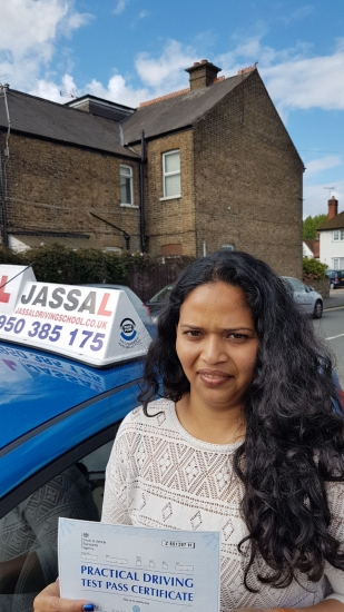 Congratulations Sonia on passing your Driving Test Slough<br />