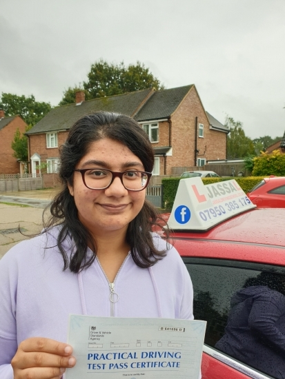 Congratulations Elisha on passing your Driving Test in Slough!.. <br />