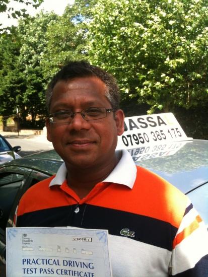 Congratulations Amal From Jassal Driving School