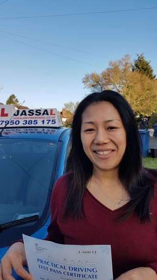 Congratulations Oradee on passing your driving test on your 1st attempt with Jassal Driving School Uxbridge<br /> <br /> I chose Jassal because my friend recommended to me I felt very relax Once the training began I had all the help and support I needed to get me through the course He will be giving you everything you need to know to pass the exam and will be a good driver