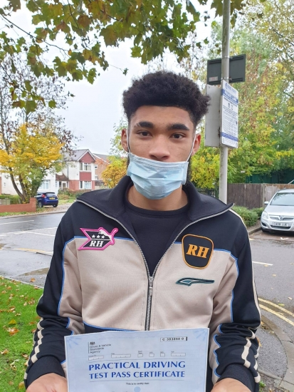 Congratulations Tyler on passing your Driving Test in Pinner on your 1st attempt!..<br /> Jassal was excellent for me taught me how to drive & I passed first time. He made driving seem easy after a while. Thank you Jassal