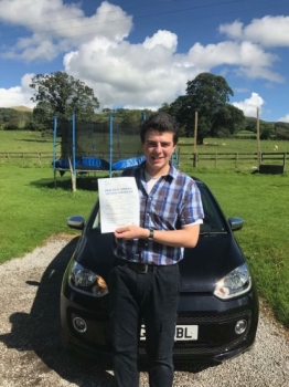 Well done to Max who passed his test first time this morning in Wrexham with only 2 minors. A fantastic drive in your own car.