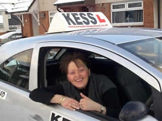 We have all passed our driving test in the McMaster family with kess driving school GrahamStacey and now myself I would certainly recommend them