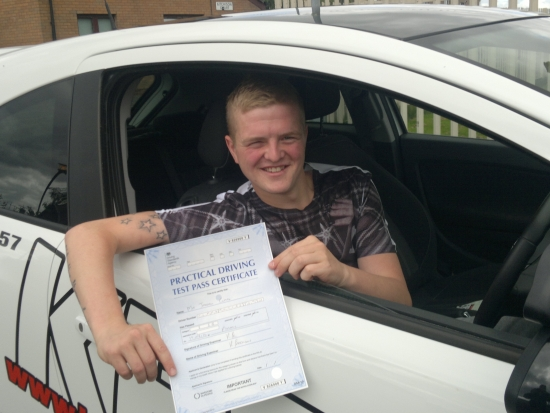 My driving instructor Eamon was fantastic Always made me feel at ease and was patient with me every time He was a great support through the driving test and I couldnacute;t recommend him enough Thank you