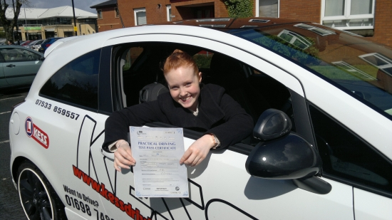 Just wanted to say that my driving instructor Eamon really gave me the confidence needed for driving – very patient and always looks at the positives rather than dwelling too long on the negatives Would definitely recommend to anyone thinking about learning to drive Thank you for helping me pass