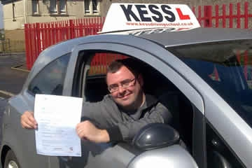 I passed first time My Instructor gave me confidence in my own abilities which overcomed any doubts and worries I had about driving If you want to pass your driving test book with KESS Driving School