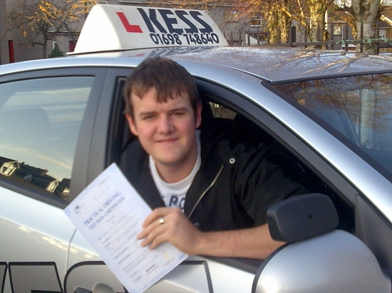 Briliant drive well done on passing first time