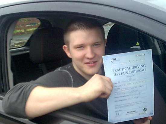 I passed first time with Kess Eamon gave me confidence right from the start and his instructions were clear and easy to follow I would recommend Kess to anyone