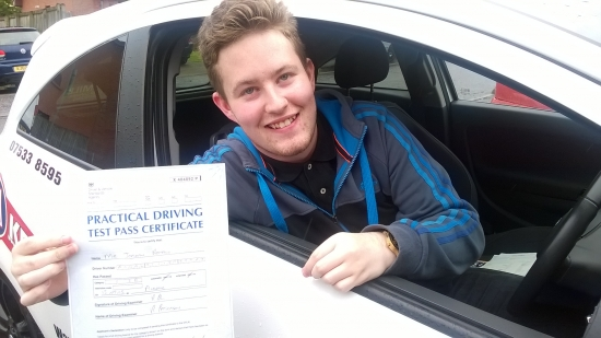 Brilliant PASS<br /> <br /> very good drive with only 2 minors