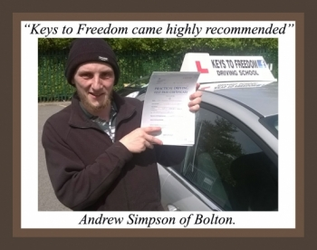 Driving lessons Bolton review