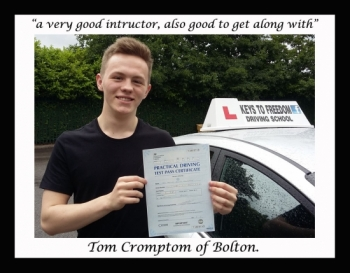 Driving lessons Bolton review.
