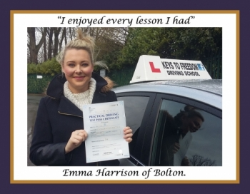Driving school Bolton review
