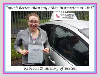 Driving school Bolton reviews