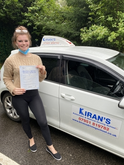 I have just passed my test with no faults and have had around 30 lessons. There was always good communication and I felt I could speak to Kiran if I didnt understand something. Would recommend xx