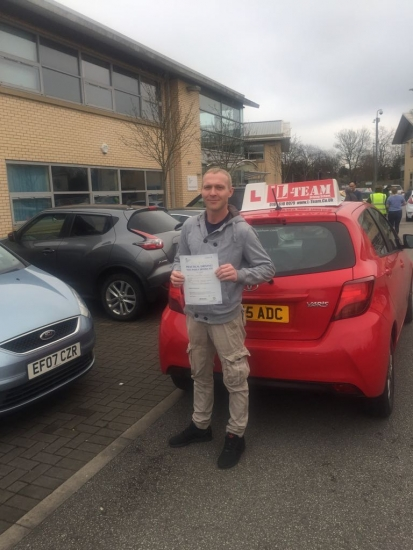 Congratulations to Shaun passing his driving test with L-Team driving school for the first time!! #passed#driving#learner� #manchester#drivinglessons #help #learning #cars Call us know to get booked in on 0333 240 6430<br /> <br /> PASS IN APRIL 2018