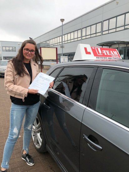 Congratulations to Naomi  passing his driving test with L-Team driving school for the first time!! #passed#driving#learner� #manchester#drivinglessons #help #learning #cars Call us know to get booked in on 0333 240 6430<br />